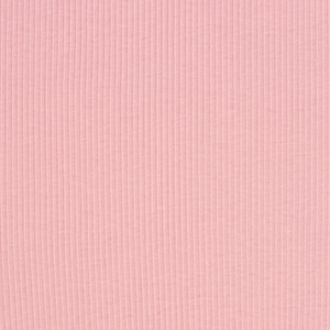Dusty Pink Wide Wale Cotton Ribbing Knit Fabric