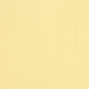 Chiffon Yellow Wide Wale Cotton Ribbing Knit Fabric