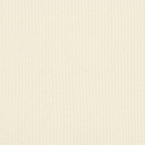 Ivory Wide Wale Cotton Ribbing Knit Fabric