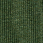 Heather Forest Green Wide Wale Cotton Ribbed Knit Fabric