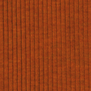 Heather Pumpkin Spice Wide Wale Cotton Ribbed Knit Fabric