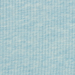 Heather Light Blue Wide Wale Cotton Ribbed Knit Fabric