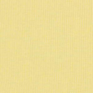 Half Yard Lemon Chiffon Cotton Baby Ribbed Knit Fabric