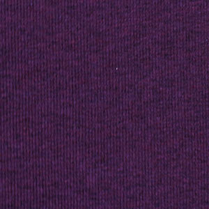 Heather Plum Cotton Baby Ribbed Knit Fabric