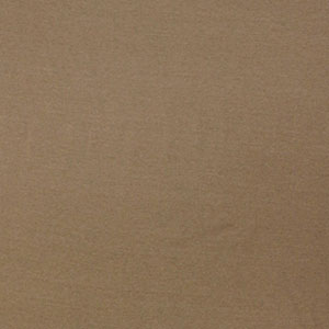 Half Yard Taupe Solid Cotton Baby Ribbed Knit