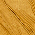 Mustard Gold Solid Jersey Spandex Blend Ribbed Knit Fabric