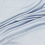 Sky Blue Solid Jersey Spandex Blend Ribbed Knit Fabric