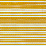 Marigold White Multi Stripe Jersey Spandex Blend Wide Wale Ribbed Knit Fabric
