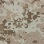Muted Digital Camo Cotton Jersey Knit Fabric