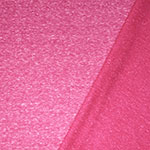 Hot Pink Solid Tri Blend French Terry Knit Fabric