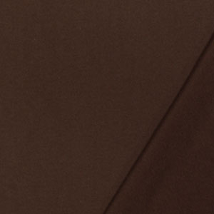 024b154b80f Milk Chocolate Brown Solid French Terry Knit Fabric - Girl Charlee