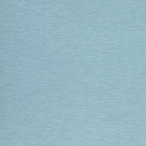 Chalk Blue Solid French Terry Spandex Blend Knit Fabric