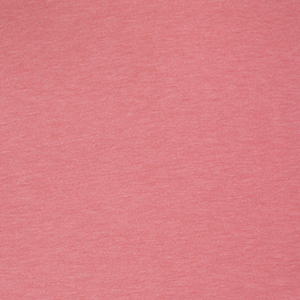 Rose Pink Solid French Terry Spandex Blend Knit Fabric