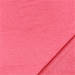 Coral Pink Solid French Terry Blend Knit Fabric