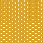 Pure Vintage Mustard Dot Cotton Spandex Knit Fabric