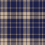 Pure Vintage School Plaid Cotton Spandex Knit Fabric