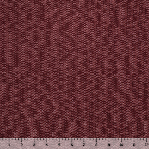 Burgundy Mauve Heather Stripe Solid Hacci Sweater Knit Fabric