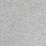 Heather Gray Brushed Solid Waffle Knit Fabric