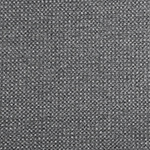 Heather Charcoal Gray Solid Waffle Knit Fabric