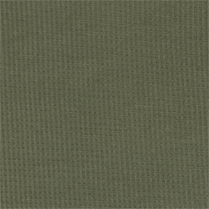 Olive Green Solid Brushed Waffle Knit Fabric