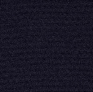 Deep Navy Blue Solid Ponte de Roma Fabric