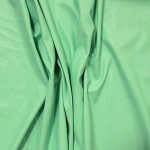 Mint Green Matte Faux Vegan Leather Fabric