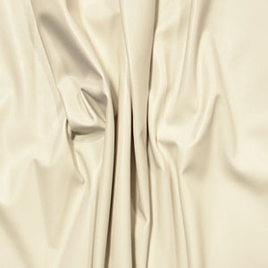 Ivory Faux Vegan Leather Fabric