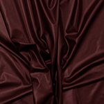 Burgundy Red Stretch Faux Vegan Leather Fabric