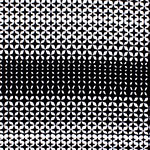 Black White Mod Diamonds Liverpool Double Knit Fabric