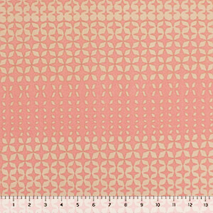 Pink Nude Mod Diamonds Liverpool Double Knit Fabric