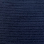 Navy Solid Wide Wale Velvet Corduroy Knit Fabric