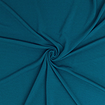 Teal Solid Liverpool Bullet Double Knit Fabric