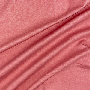 Deep Rose Solid Ponte de Roma Knit Fabric