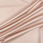 Light Peony Solid Ponte de Roma Knit Fabric