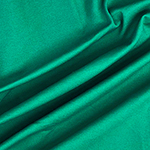 Emerald Green Solid Ponte de Roma Knit Fabric