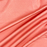 Salmon Pink Solid Ponte de Roma Knit Fabric