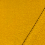 Goldenrod Yellow Solid Jersey Sweatshirt Fleece Blend Knit Fabric