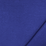 Royally Blue Solid Jersey Sweatshirt Fleece Blend Knit Fabric