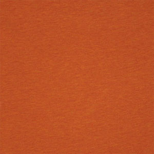 Heather Burnt Orange Solid Baby Cotton Jersey Knit Fabric