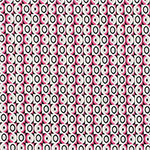 Mod Mini Circle Squares Cotton Jersey Knit Fabric