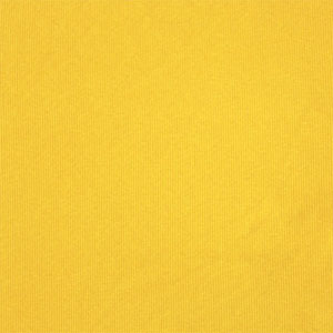Half Yard Sunny Yellow Cotton Spandex Ribbing Knit Fabric