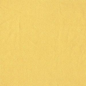 Half Yard Maize Yellow Cotton Spandex Ribbing Knit Fabric