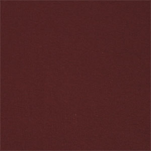 Burgundy Solid Cotton Ribbing Knit Fabric