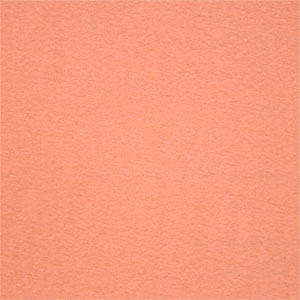 Sherbet Orange Solid Cotton Baby Rib Knit Fabric
