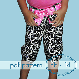 Jocole Skinnie Minnie Pants Sewing Pattern