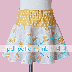 Jocole Drop and Twirl Circle Skirt Sewing Pattern