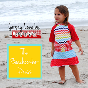 Fishsticks Designs Beachcomber Dress Sewing Pattern