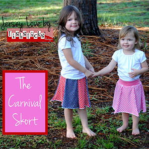 Fishsticks Designs Carnival Skort Sewing Pattern
