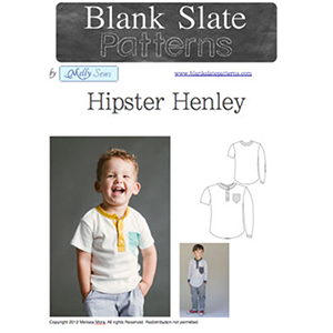 Blank Slate Patterns Hipster Henley Sewing Pattern