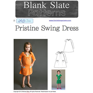 Blank Slate Patterns Pristine Swing Dress Sewing Pattern